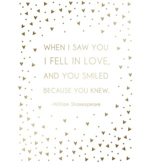 AN/Shakespeare Love Quote