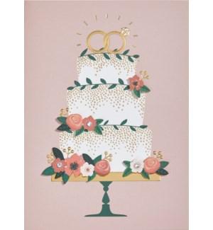 WD/Pink Layered Cake