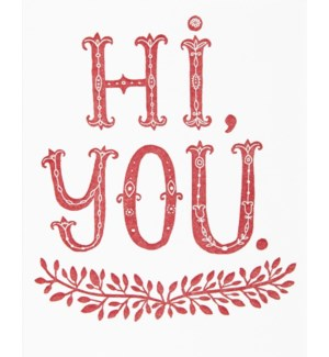 ED/Hi You