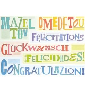 CO/Congrats in Different Langu