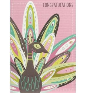 CO/Congratulations Peacock