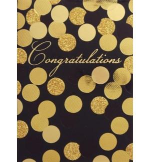 CO/Gold Sequins On Black