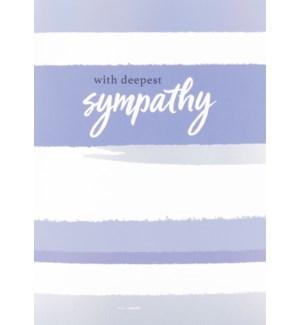 SY/With Deepest Sympathy Strip