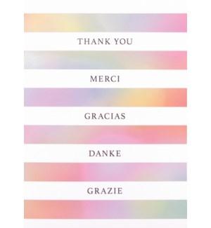 TYB/Thank You Multilingual