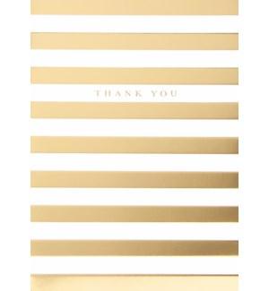 TY/Gold Foil Stripes