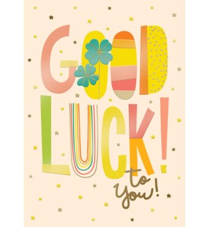 GL/Colorful Good Luck