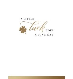 GL/Little Luck Goes A Long Way