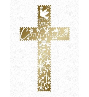 RL/Gold Cross With Icons