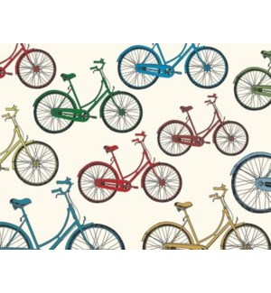 NOTES/BLANK Colored Bicycles