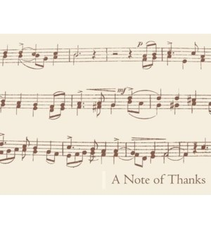 NOTES/TY Vintage Music Notes