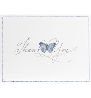 NOTES/TY Butterfly Calligraphy