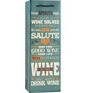 BOTTLEBAG/Wine Mottos