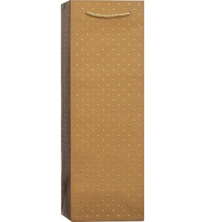 BOTTLEBAG/Gold Swiss Dots-Gold