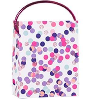 GIFTBAG/Pink Confetti Toss M