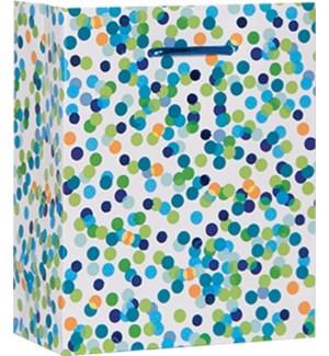 GIFTBAG/Blue Confetti Toss SM