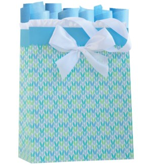 GIFTBAG/Knitted For You Blue M