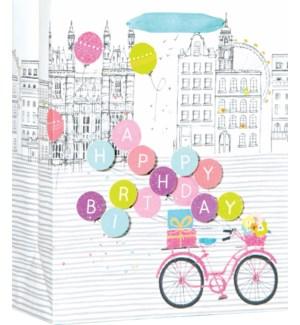 GIFTBAG/Birthday Bike M