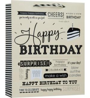 GIFTBAG/Birthday Expressions L