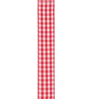 RIBBON/Red Gingham