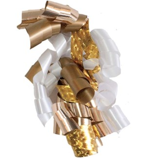 BOW/Gold Large Curly