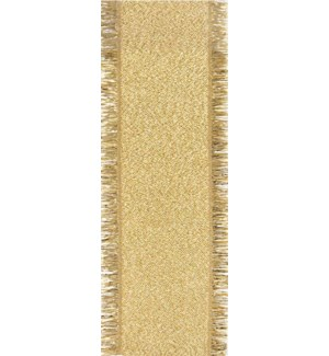 RIBBON/Gold Fringe