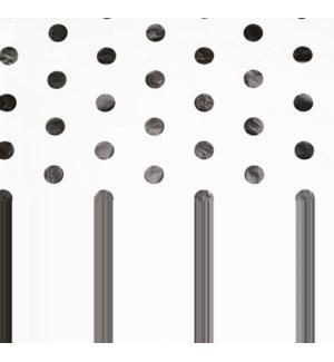 TISSUE/Silver Hot Spots Foil
