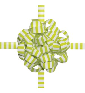 BOWCOMBO/Lime Green Stripes