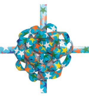 BOWCOMBO/Blue Colorful Stars