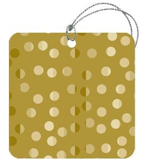 GIFTTAG/Shiny Dots Gold