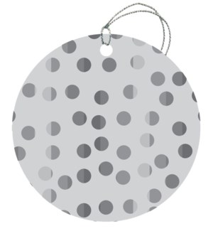 GIFTTAG/Shiny Dots Silver