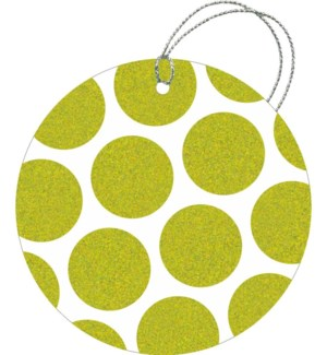 GIFTTAG/Kenzie Dot Lime Green