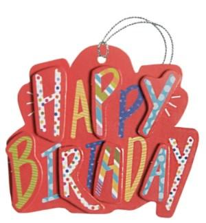 GIFTTAG/Birthday Pop