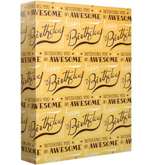 WRAP/Awesome Birthday Type