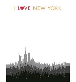NOTEPAD/I Love New York