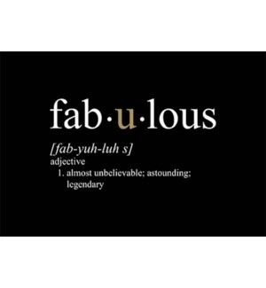 MAG/Definition Of Fabulous