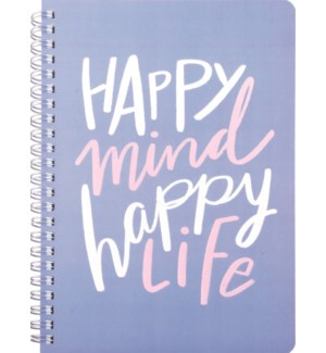 NOTEBOOK/Happy Mind And Life