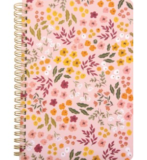 NOTEBOOK/Small Florals Blush