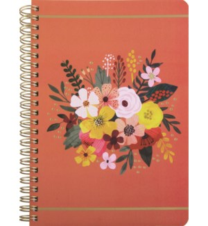 NOTEBOOK/Coral Bright Bouquet