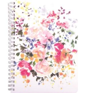 NOTEBOOK/Watercolor Florals