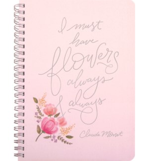 NOTEBOOK/I Must Have Flowers