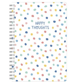 NOTEBOOK/Happy Stripes Dots