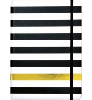 JOURNAL/Black Kenzie Stripe