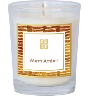 CANDLE/Warm Amber 2.5oz