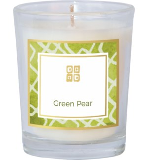 CANDLE/Green Pear 2.5oz