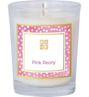 CANDLE/Pink Peony 2.5oz