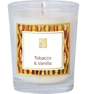 CANDLE/Tobacco & Vanilla 2.5oz