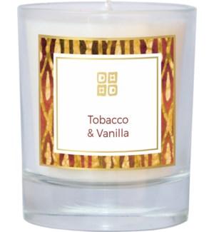CANDLE/Tobacco & Vanilla 7oz