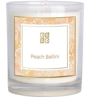 CANDLE/Peach Bellini 12oz