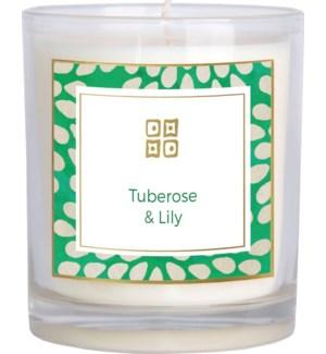 CANDLE/Tuberose & Lily 12oz