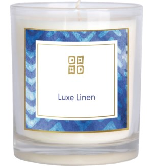 CANDLE/Luxe Linen 12oz